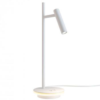 Maytoni Lampada da tavolo a LED orientabile per scrivania in stile moderno in metallo Estudo  Lumen 550 3000k Luce Calda  Z010TL-L8