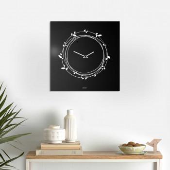 """Design Object Orologio da parete in metallo design italiano per salotto e soggiorno """"NIDO""""      IT617"""