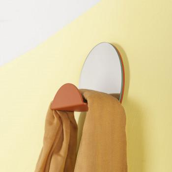 """Formae Appendiabiti in acciaio verniciato con specchio e svuota tasche """"Costellation""""      COSTUU"""