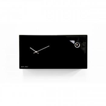 Progetti Orologio da parete a cucù di design moderno Cucu_Chic