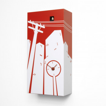 Progetti Orologio da parete di design a cucù Cucucity