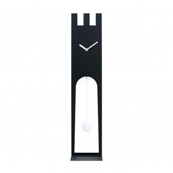 Progetti Orologio da parete di design con pendolo e mensola Don