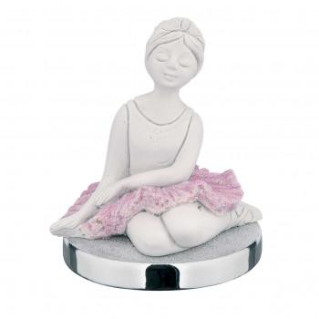 Bongelli Preziosi Bomboniera Vari Eventi - Statuina da tavolo con base con ballerina seduta      ME1284/BASE