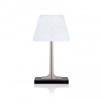 Ves Design Lampada da tavolo in legno di design moderno con lampada a LED KLIN   4000k Luce Naturale  K06L01