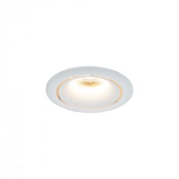 Maytoni Faretti da incasso con luce a led e struttura in metallo verniciato Yin  Lumen 980 3000k Luce Calda  DL031-2-L12