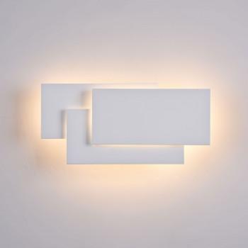 Maytoni Applique a LED per esterni in stile moderno con struttura in metallo Trame Bianco