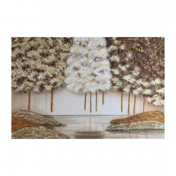 Art Maiora Quadro moderno con paesaggio boschivo 120x80      FRSOR