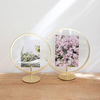 "Umbra Portafoto grande da tavolo in stile moderno ""Infinity""     13x18 1012272"