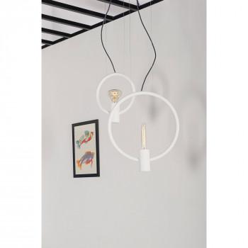 """Formae Lampada a sospensione piccola verticale in stile moderno """"Gemina""""      GEMISV"""