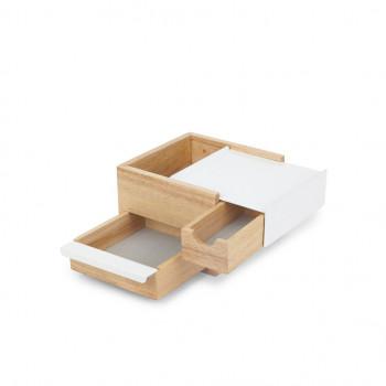 """Umbra Cofanetto portagioielli piccolo in legno """"Stowit"""""""