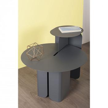 "Formae Formae Tavolino da salotto moderno in acciaio verniciato ""Hiphop""      HIPHUU"