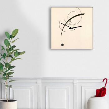 """Design Object Orologio da parete da salotto in stile contemporaneo in metallo """"KANDINSKY""""      IT901"""