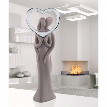 Bongelli Preziosi Statuina con Innamorati e Cuore