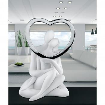 Bongelli Preziosi Statuina moderna con Innamorati Seduti