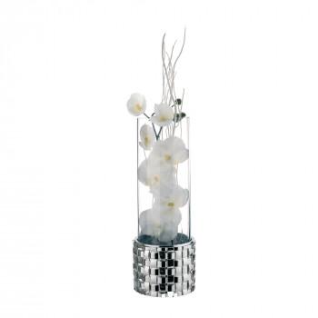 Bongelli Preziosi Vaso in vetro Intrecci  Argento
