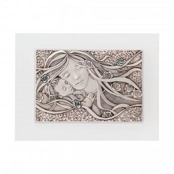 Bongelli Preziosi Capezzale Maternità con pannello in legno 40x30 in stile classico