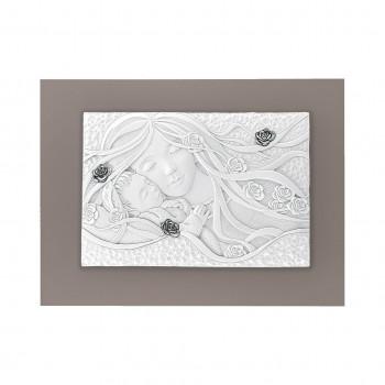 Bongelli Preziosi Capezzale classico con Maternità e dettagli argento 40x30
