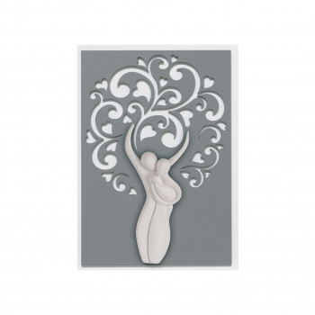 Bongelli Preziosi Capezzale moderno con famiglia stilizzato Albero della Vita