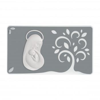 Bongelli Preziosi Quadro capoletto moderno con maternità 70x40 piccolo Albero della Vita