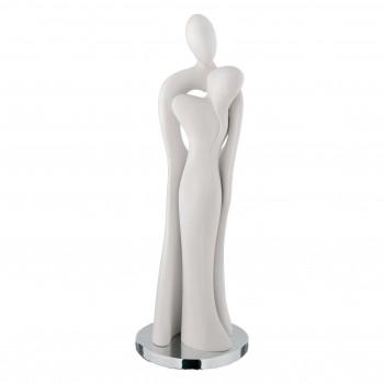 Bongelli Preziosi Statuina moderna con coppia di innamorati con cuore