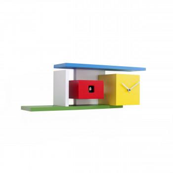 """Progetti Orologio da parete a cucù in legno """"Mies"""""""