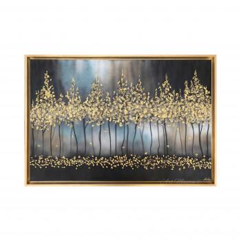 "Art Maiora Quadro moderno dipinto a mano su tela ""Notte Romantica"" 120x80      NTTRO"