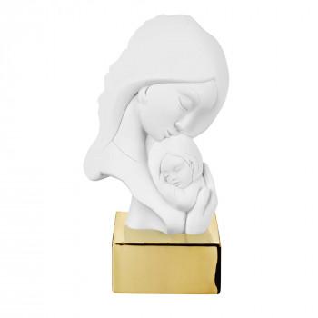 Bongelli Preziosi Scultura da tavolo con base in marmorino raffigurazione della maternità      ME2076