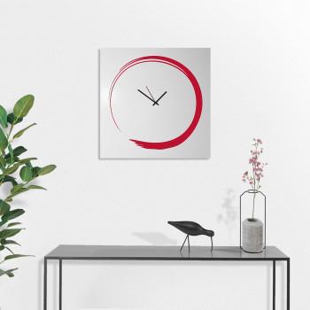 """Design Object Orologio da parete ultra minimalista in metallo senza numeri """"S-ENSO""""      IT607"""