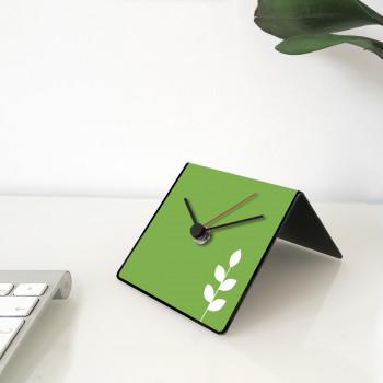 """Design Object Orologio da tavolo e scrivania in metallo con frasi celebri sul retro """"TZU"""" Cit Collection     IT241"""
