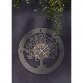 Arti e Mestieri Orologio da parete grande rotondo portafortuna Albero della Vita