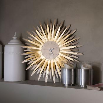 Arti e Mestieri Orologio da parete a forma di sole in metallo Sting     3073