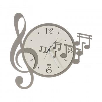 Arti e Mestieri Orologio da parete moderno con chiave e note musicali Musica