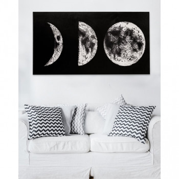 Pintdecor Quadro da parete moderno Dark Side 140x70      P4758