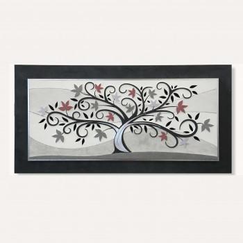 Artitalia Quadro con pannello decorativo in legno con albero della vita in stile moderno      PD1069