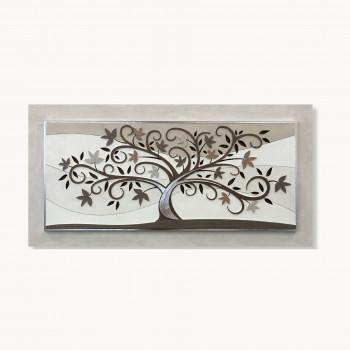 Artitalia Pannello decorativo con albero della vita realizzato in legno 155x65      PD1070