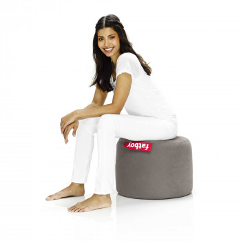 "Fatboy Pouf moderno da interni in tessuto ""Point Stonewashed"""