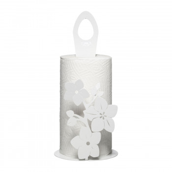 Arti e Mestieri Porta rotoli da tavola con decorazioni floreali Fior Di Loto