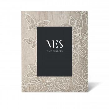 """Ves Design Portafoto da tavolo in stile moderno con cornice in legno """"Papillon"""" Istanti"""