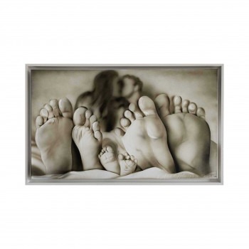 "Art Maiora Capezzale moderno dipinto a mano su tela ""Relax"" 110x65      RLAX"