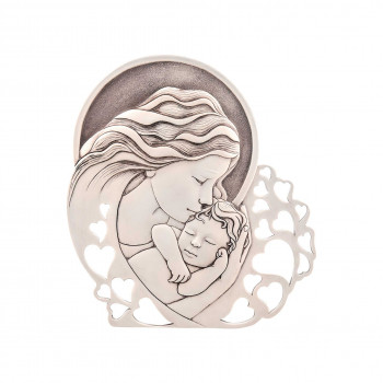 Bongelli Preziosi Capezzale classico Madonna con Bambino grande 29x31