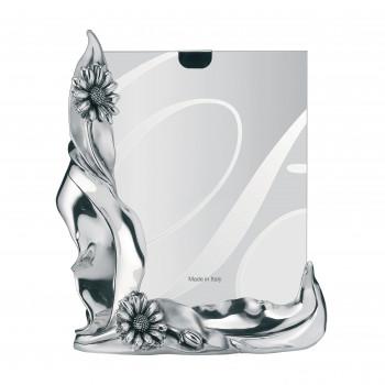 Bongelli Preziosi Portafoto da tavolo dal design classico con cornice e margherite in argento  Argento   13x18 ME324/1