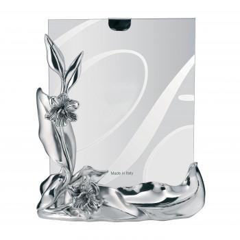 Bongelli Preziosi Portafoto da tavolo dal design classico con cornice in argento e margheritine  Argento   20x25 ME332/2