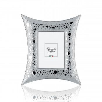 Bongelli Preziosi Portafoto da tavolo con cornice in argento dal design moderno  Argento   13x18 ME588