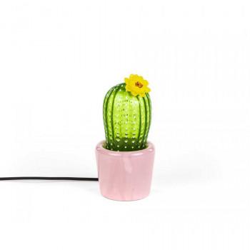 Seletti Lampada da tavolo a LED moderna piccola con paralume in vetro Desert Sunrise  Lumen 480 3000k Luce Calda  14590