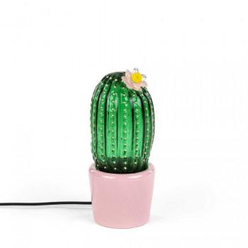 Seletti Seletti Lampada da tavolo a LED moderna grande con paralume in vetro Desert Sunrise  Lumen 480 3000k Luce Calda  14591