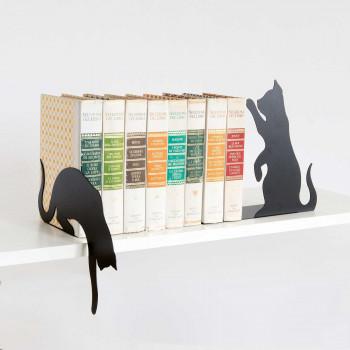 Arti e Mestieri Set 2pz reggi libri Gatti