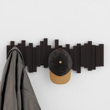 Umbra Appendiabiti da parete con ganci ribaltabili Moderno      318211