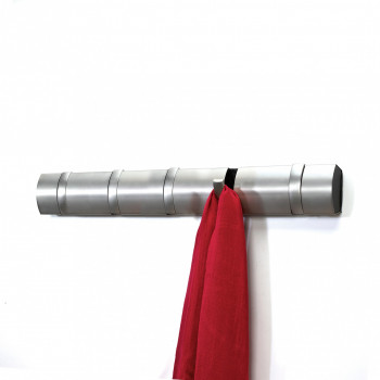 Umbra Appendiabiti con ganci ribaltabili Moderno Flip Flip Nichel