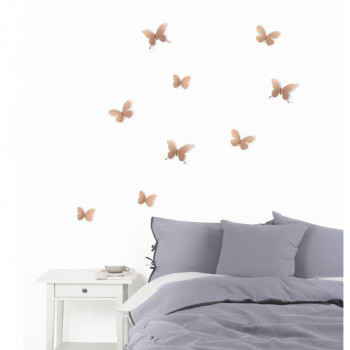 Umbra Farfalle decorative da parete Set 9pz Mariposa