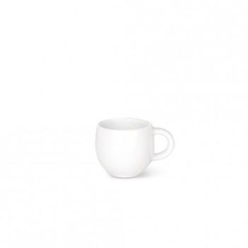 Alessi Tazza da caffè Set 4pz All Time Bianco    AGV29/76